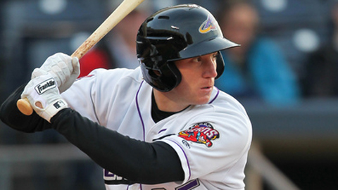 Jared Goedert leads the Eastern League with a 1.060 OPS in 34 games.