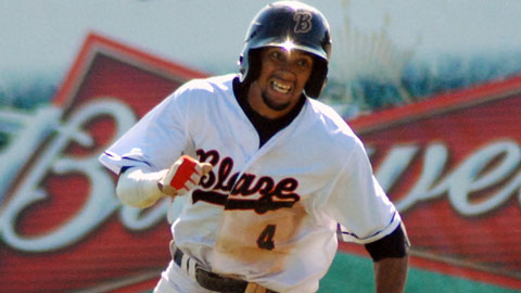Billy Hamilton is second in the California League with a .421 OBP.