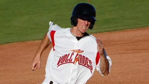 Matt Duffy had only two RBIs in his first 28 Minor League games.