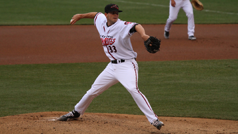 Richmond's Chris Heston leads the Eastern League with a 2.13 ERA.